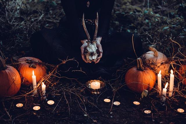 Una macabra noche de halloween
